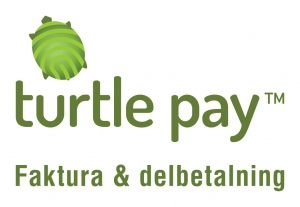 Logotyp Turtle Pay faktura och delbetalning